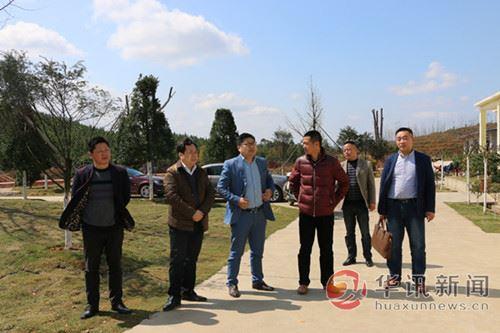 江西德兴市人防办主任汪学军到香屯街道调研指导人防工作
